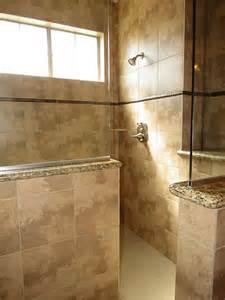 Walk in shower half wall half glass bedrooms n bathrooms bathroom