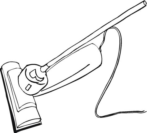 coloring pages vacuum cleaner free household coloring pages