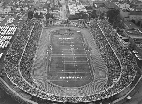 san diego chargers bowl history today in pro football history past venue balboa stadium