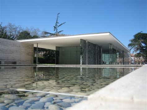 Panoramio Photo Of Mies Der Rohe Pavillon
