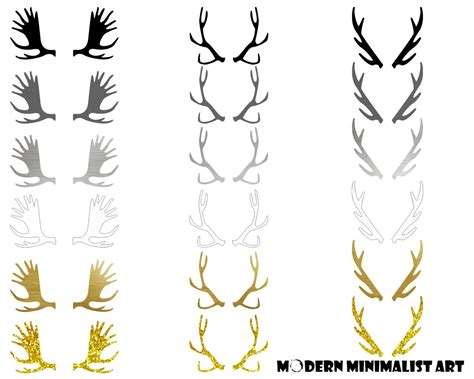 deer antler clip antlers clipart clipground