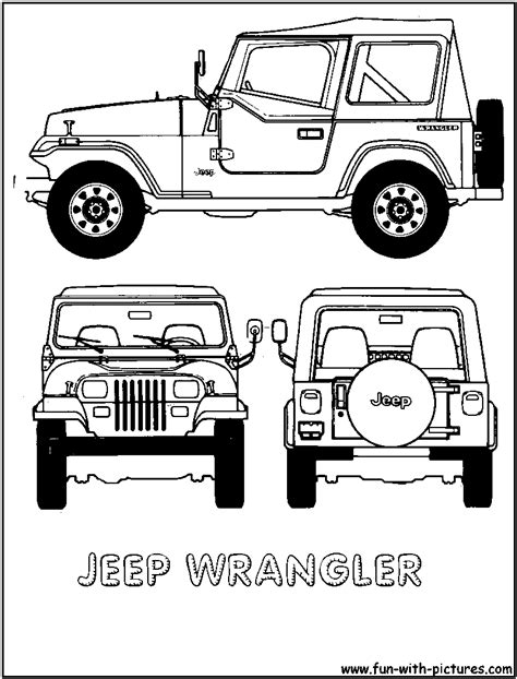 jeep grill drawing jeep clip jeep wrangler colouring pages