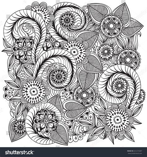 doodle alley flowers beautiful doodle flowers zentangle floral stock