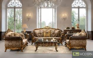 Highend luxury traditional sofa set formal living room furniture mc hd