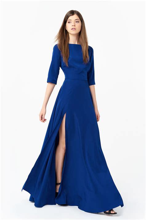 Dress Silk flattering silk dress at anastasiia ivanova