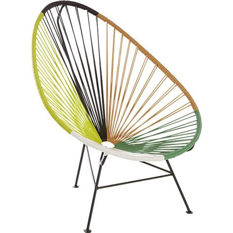 green outdoor lounge chair 10 easy pieces the acapulco chair gardenista