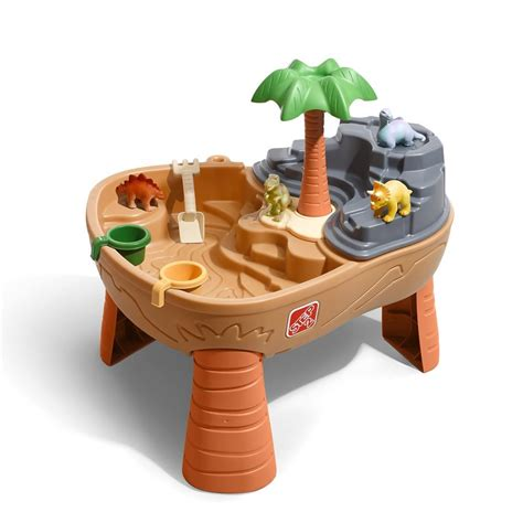 2 water sand table step2 dino dig sand water table outdoor play