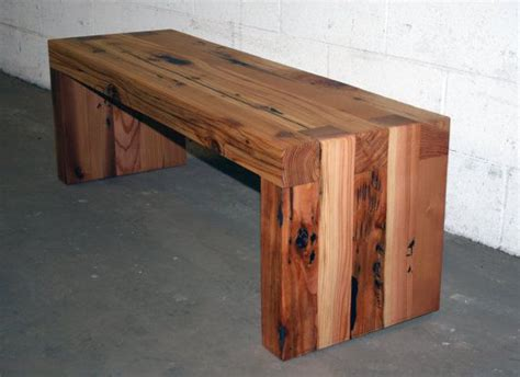 wooden bench tables the box joint bench coffee table 48 quot long made from