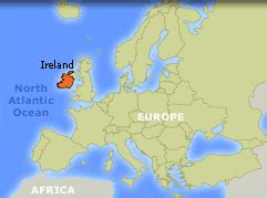 Ireland Map Europe by Wide Angle Video Bank Thirteen Ed Online