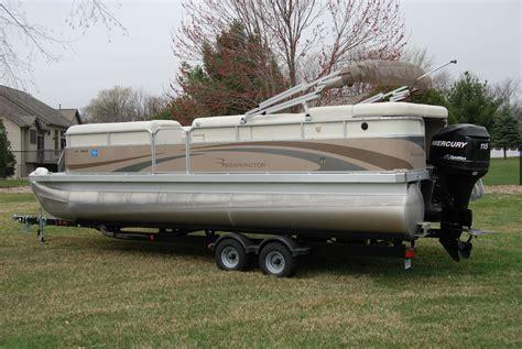 bennington pontoon boat trailers bennington 2275gl pontoon boat mercury 115hp trailer