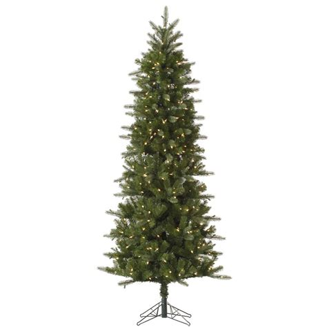 12 foot carolina pencil spruce christmas tree all lit