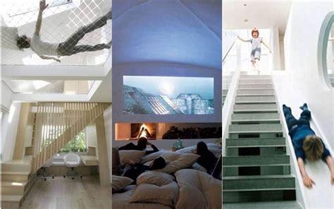 slide in bedroom billionaires pimp their mansions with indoor waterfalls