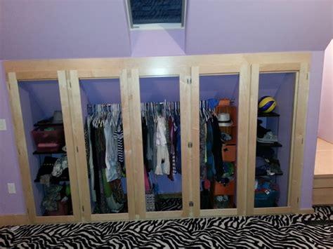 Bonus Room Closet Ideas bonus room remodel eclectic closet milwaukee by brunsell lumber millwork