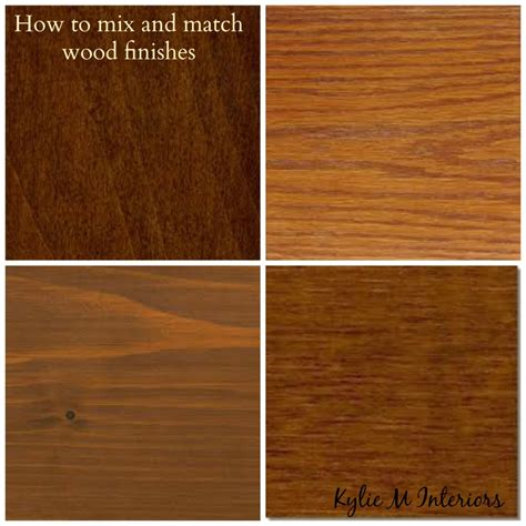 what does paint to match how to mix match and coordinate wood stains undertones