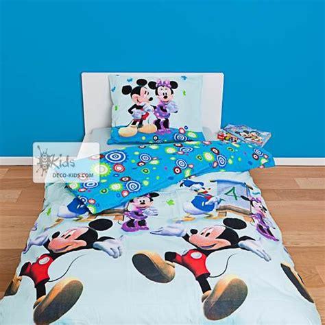 Couette Mickey Et Minnie by Housse De Couette Mickey 140 X 200 Cm Parure De Lit