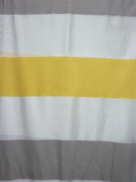 vorhang gelb grau deko stoff gardine vorhang querstreifen wei 223 gelb grau
