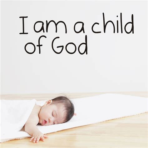 Wholesale Home Decor mix wholesale order i am a child of god wall sticker wall