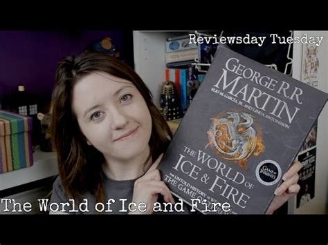 0007580916 the world of ice and the world of ice and fire book review youtube