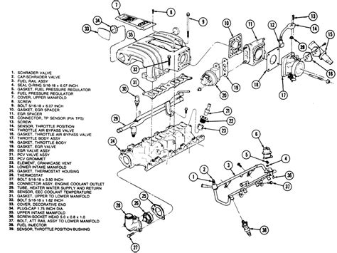 service manuals schematics 2011 ford mustang head up display 1995 mustang gt fuel injectors and fuel rail need help ford mustang forum