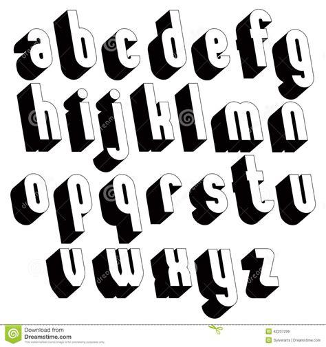 imagenes en blanco y negro de letras fuente blanco y negro 3d al simple e intr 233 pido del solo
