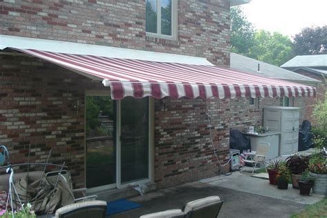 Sunsetter Awning Replacement Fabric by Sunsetter Motorized Acrylic Fabric With Vinyl Cover