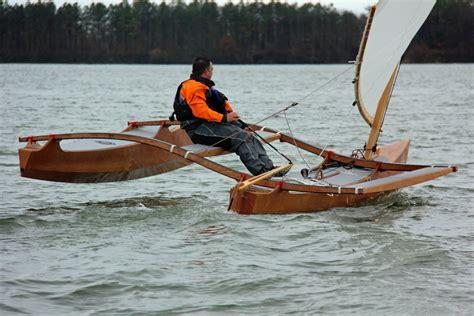 clc boats trimaran clc wooden outrigger catamaran gear water pinterest