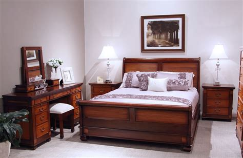 mahogany bedroom suite chelmsford mahogany queen bed