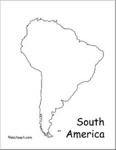 south america map outline tattoos america
