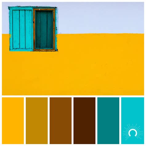 brown complementary color yellow astelle s colors
