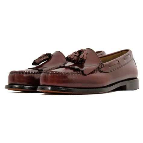 shoes loafer bass weejun loafer layton burgundy loafer shoe