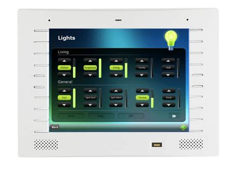 crestron tpmc8l touch screen at vision living