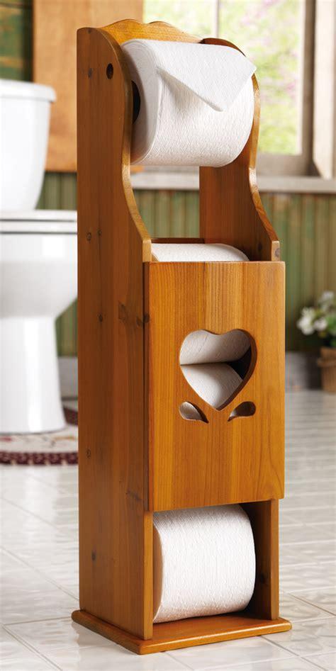 wooden toilet paper holder wooden heart toilet paper storage holder for 3 extra rolls