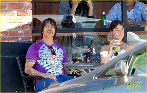 helena vestergaard born anthony kiedis spends thanksgiving with 20 year old