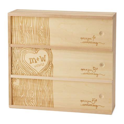 Wedding Anniversary Wine Box by Anniversary Wine Box Wine Boxes Anniversaries And Wine