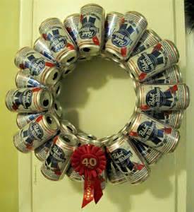 Make yourself a beercan holiday wreath the saddest christmas