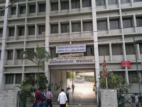 Bangalore Mba Evening Colleges by Panoramio Photo Of Vivekananda Evening College