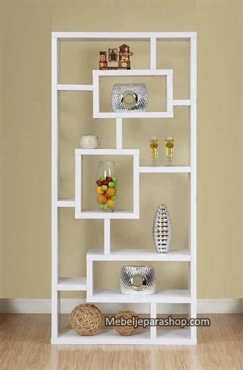 Rak Buku Dinding Sudut rak buku lemari pajangan minimalis mjs furniture