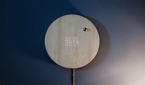 flyte kickstarter floating clock by flyte visualizes time with levitating sphere