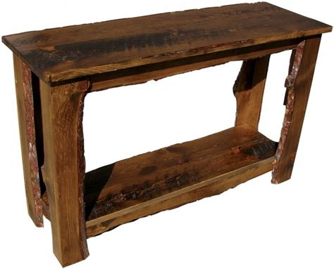 log sofa table 1000 ideas about rustic sofa tables on pinterest