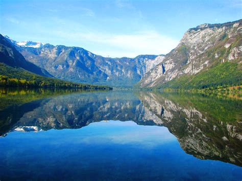 slovenia lake triglav national park lake bohinj amigo si