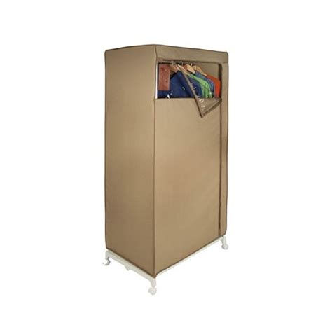 Canvas Wardrobe Canvas Storage Wardrobe Cedar In Clothing Racks And