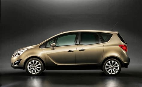 2015 Opel Meriva B Pictures Information And Specs