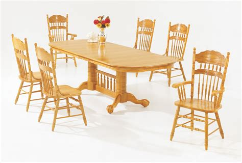 Light Oak Dining Room Chairs Versailles Light Oak Dining Room Furniture Set True Contemporary