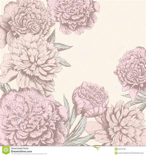 flower design vintage weddings vintage flower background royalty free stock image image
