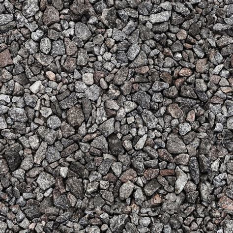 gray industrial gravel seamless background photo texture