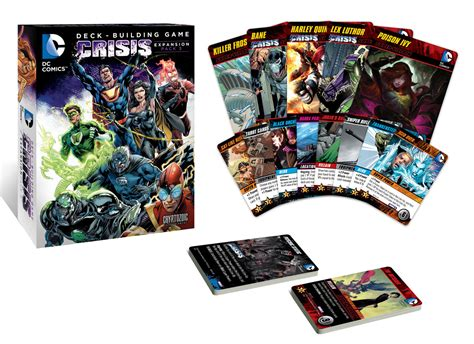dc deck building card templates dc comics deck building crisis expansion pack 3