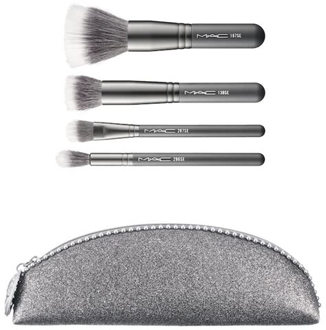 nudo brushed silver mac cosmetics heirloom mix collezione natale 2014
