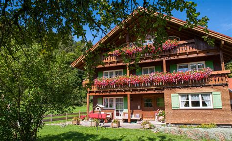 haus tannheimer oberstdorf willkommen im voglerhaus in tiefenbach bei oberstdorf im