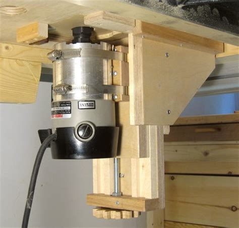 router woodwork router lift