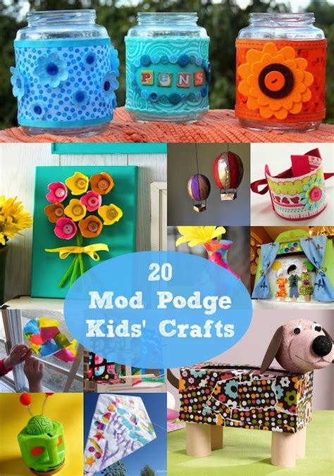 mod podge crafts for 20 easy and mod podge crafts mod podge rocks